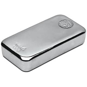 1kg Perth Mint Cast Silver Bullion Bar ( Brand new bars)