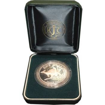1 oz 1998 $1 Silver Kangaroo