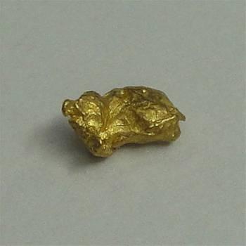 Natural Gold Nugget - 0.1g