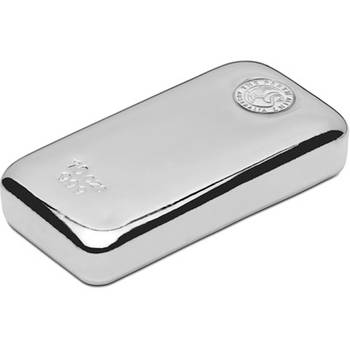 10oz Perth Mint Cast Silver Bullion Bars (Brand new bars)