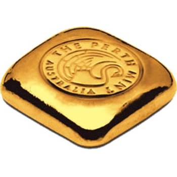 1 oz Perth Mint Gold Bullion Cast Bar