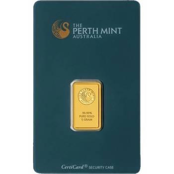 5 g Perth Mint Gold Bullion Minted Bar