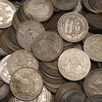 1kg Bags of Pre 1946 Australian Silver Florins (92.5%)
