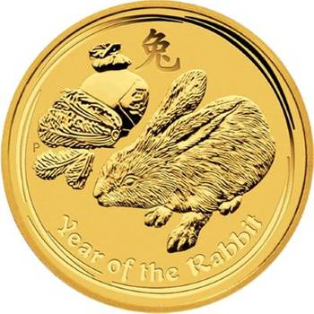1 oz 2011 Australia Year of the Rabbit Gold Bullion Coin
