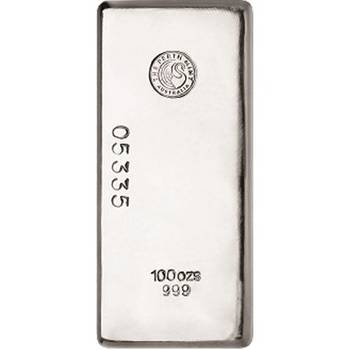 100 oz Perth Mint  Silver Bullion Bar