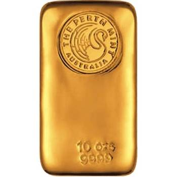 10oz Perth Mint Cast Gold Bullion Bar