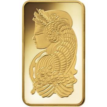 1 oz PAMP Suisse Gold Bullion Minted Bar