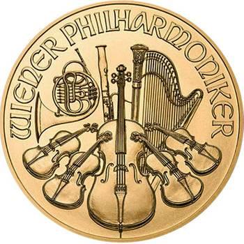 1oz 2019 Austrian Philharmonic Gold Bullion Coin (Brand New Coins)