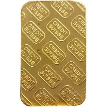 20 g Credit Suisse Minted Gold Bullion Bar