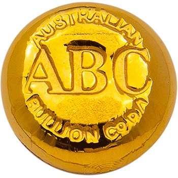 1/2 oz ABC Gold Bullion Cast Bar