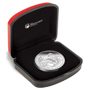 1/2 oz 2014 Australian Lunar Year of the Horse Silver Proof Coin