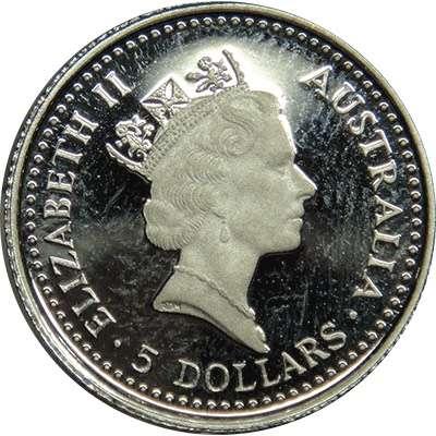 1/20 oz 1991 Australian Koala Platinum Bullion Coin
