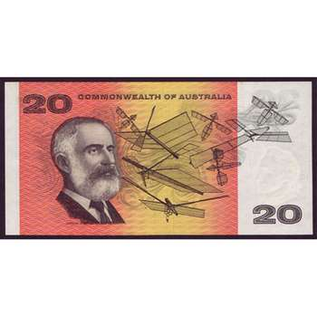 1968 Australia R. 403S Twenty Dollars Star Note Phillips/Randall Australian Decimal Banknote