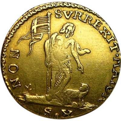 1763 Order of Malta 10 Scudi Gold Coin