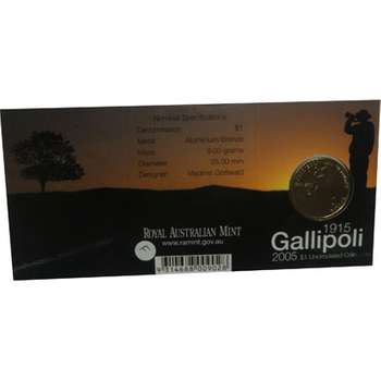 1915-2005 C Australia Gallipoli One Dollar Coin