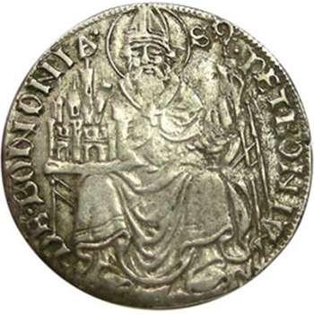 1463-1506 France/Bologne Giovanni II Ecu Coin