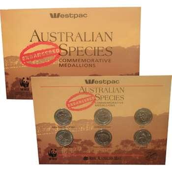 1992 Australian Endangered Species Commemorative Medallions