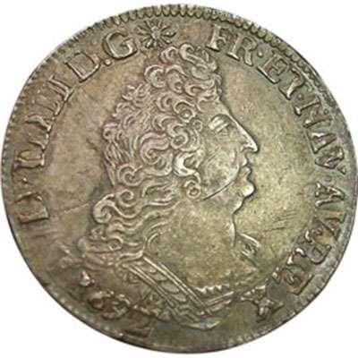 1692 France Louis XIV 1/2 Ecu