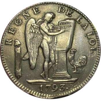 1793 A France First Republic 6 Livres