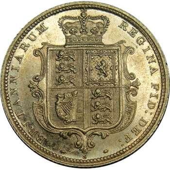 1887 S Australia Queen Victoria Young Head Shield Half Sovereign Gold Coin