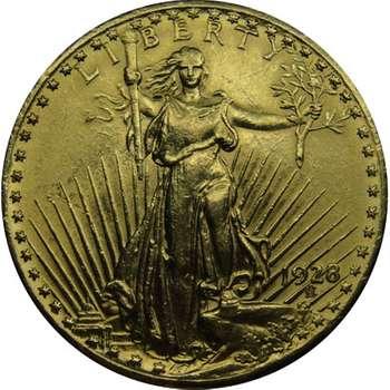 1928 USA Saint Gaudens Twenty Dollars Gold Coin
