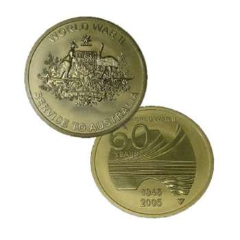 1945-2005 Australian 60th Anniversary of the end of World War II Medallion