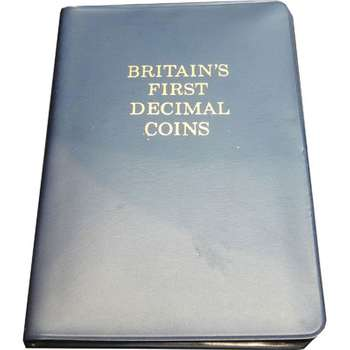 1971 Great Britain - Britain's First Decimal Coins Uncirculated Set