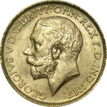 1914 P Australia King George V St George Sovereign Gold Coin