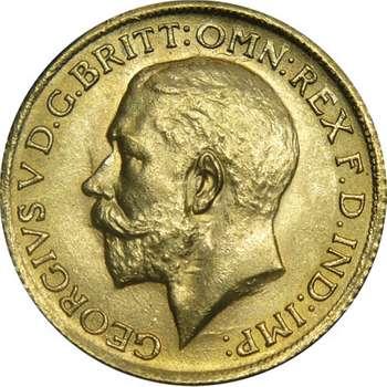 1925 S Australia King George V St George Sovereign Gold Coin