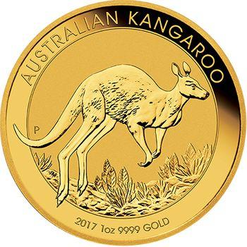 1 oz 2017 Australian Kangaroo Gold Bullion Coin