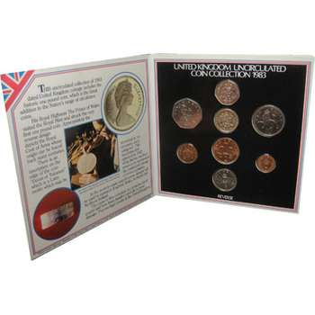 1983 Great Britain Coin Set