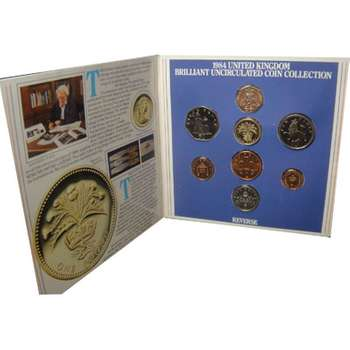 1984 Great Britain Coin Set