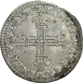 1592 France Henri IV 1/4 Ecu