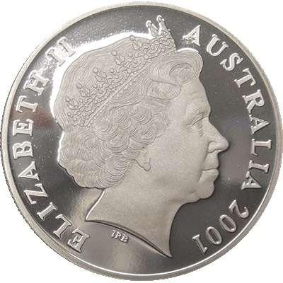 1 oz 2001 $1 Silver Kangaroo (Proof Strike)