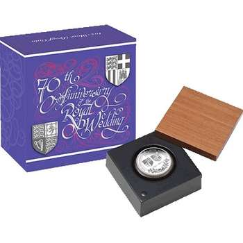 1 oz 2017 70th Anniversary of the Royal Wedding Silver Proof Coin