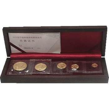 2012 Chinese Panda Gold Bullion Five Coin Set