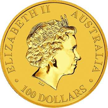 1 oz 2018  Australian Kangaroo Gold Bullion Coin