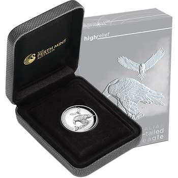 1 oz 2018 Australian Wedge-Tailed Eagle High Relief Silver Proof Coin