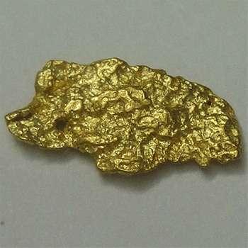 Natural Gold Nugget - 0.4 g