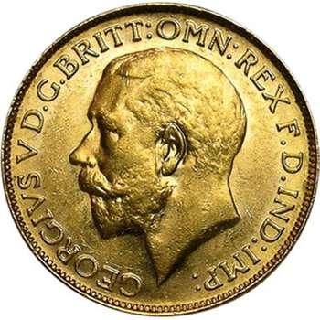 1928 P Australia King George V St George Sovereign Gold Coin