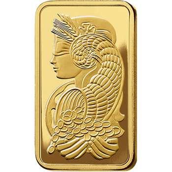 50 g PAMP Suisse Gold Bullion Minted Bar