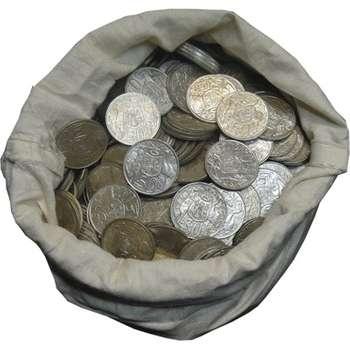 1966 Australian 50 Cent Silver Rounds (80%)