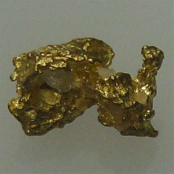 Natural Gold Nugget - 0.3 g