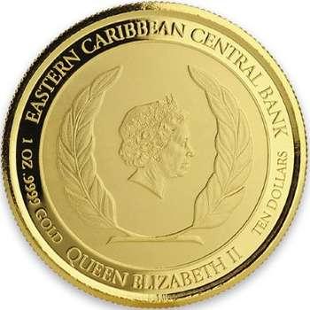 1 oz 2018 Dominica The Nature Isle Gold Bullion Coin