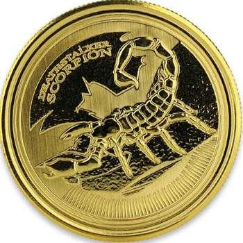 1 oz 2017 Republic of Chad Deathstalker Scorpion Gold Bullion Coin