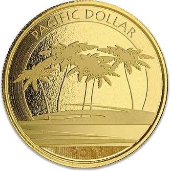 1 oz 2018 Fiji Pacific Dollar Gold Bullion Coin