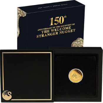1/4 oz 2019 Welcome Stranger Gold Proof Coin