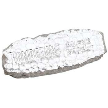 10 oz Scottsdale Tombstone Silver Bullion Nugget Bar