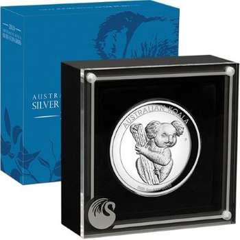 5 oz 2020 Australian Koala Silver Proof High Relief Coin