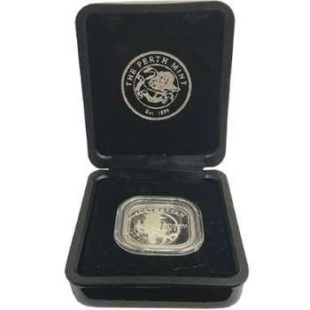 1/2 oz 2004 Australian Kookaburra Square Silver Proof Coin